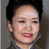Paní Peng Liyuan zradil make-up.