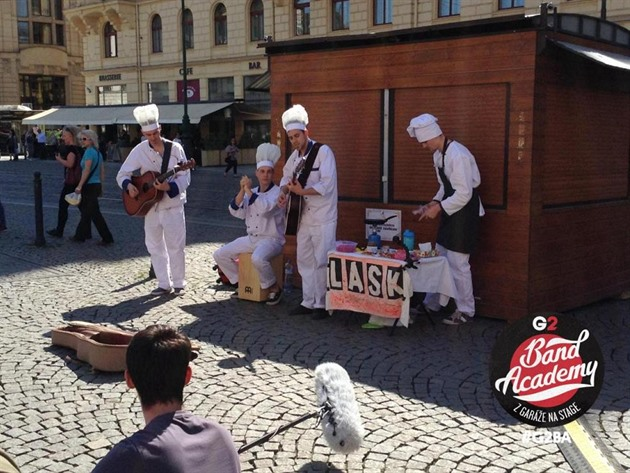 G2 BAND ACADEMY - LASK - BUSKING