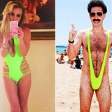 Britney Spears vs Borat