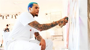 Chris Brown v akci