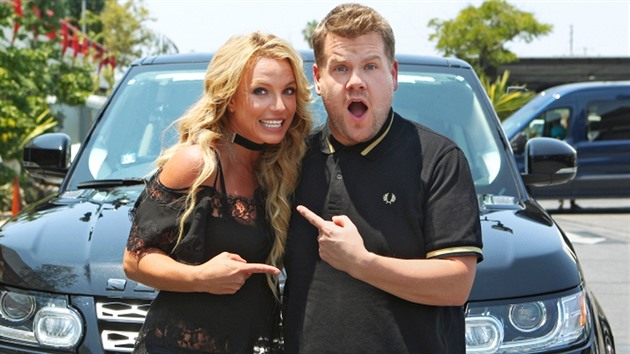 Britney Spears a James Corden