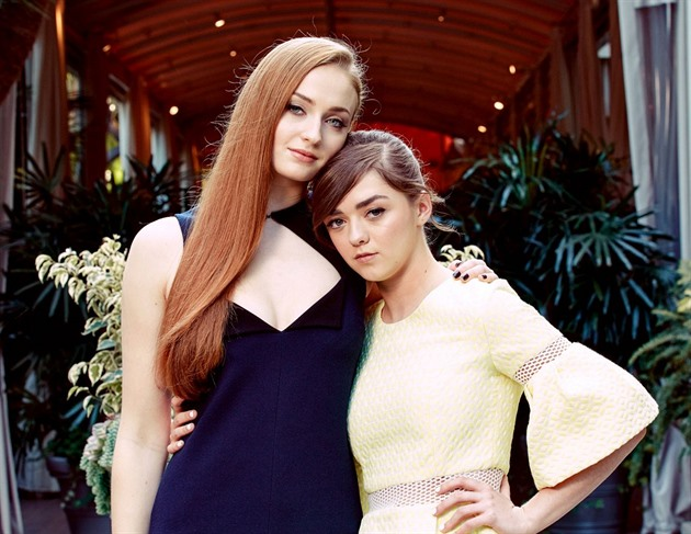 Maisie Williams a Sophie Turner