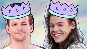 Louis Tomlinson a Harry Styles