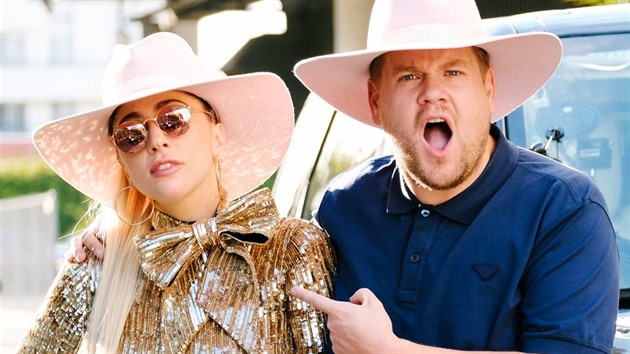 Lady Gaga a James Corden