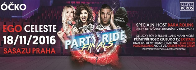 Party Ride Live finals v SaSaZu