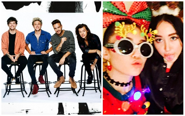 One Direction / Miley Cyrus a Noah Cyrus