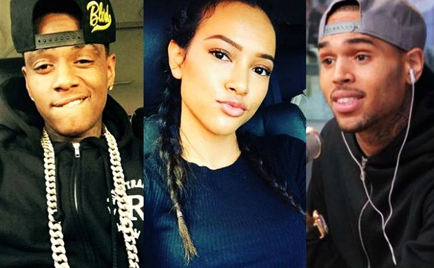 Soulja Boy, Karrueche Tran, Chris Brown
