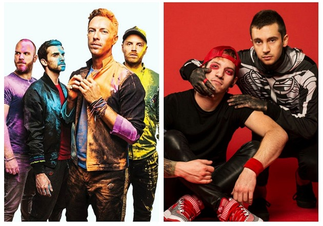 Coldplay / twenty one pilots