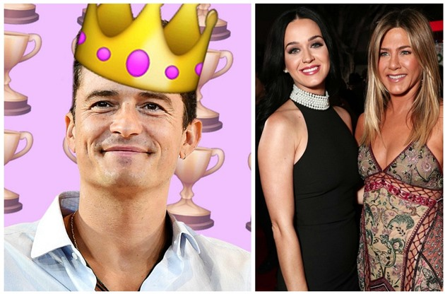 Orlando Bloom / Katy Perry a Jennifer Aniston