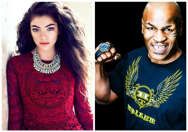 Lorde / Mike Tyson