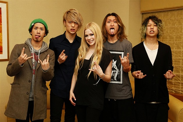 Avril Lavigne a ONE OK ROCK