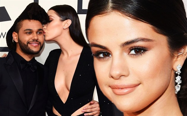 The Weeknd a Bella Hadid / Selena Gomez