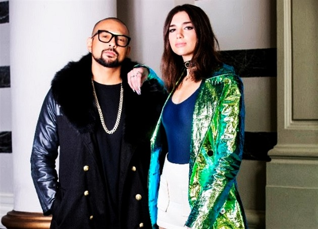 Sean Paul a Dua Lipa
