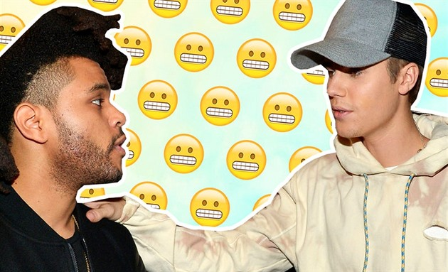 The Weeknd a Justin Bieber