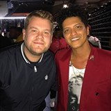 James Corden a Bruno Mars
