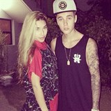 Chantel Jeffries a Justin Bieber
