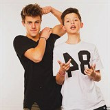 Jacob Sartorius a Cameron Dallas