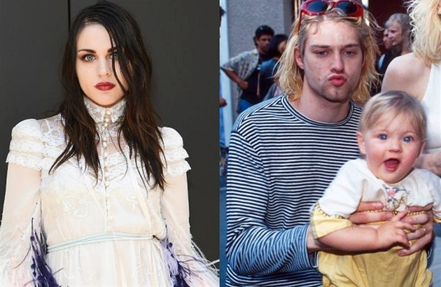 Frances Bean / Kurt Cobain a Frances