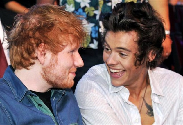 Ed Sheeran a Harry Styles