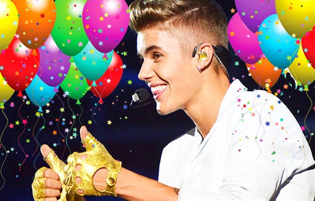Happy birthday, Justin Bieber