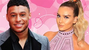 Alex-Oxlade Chamberlain a Perrie Edwards
