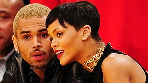 Chris Brown a Rihanna