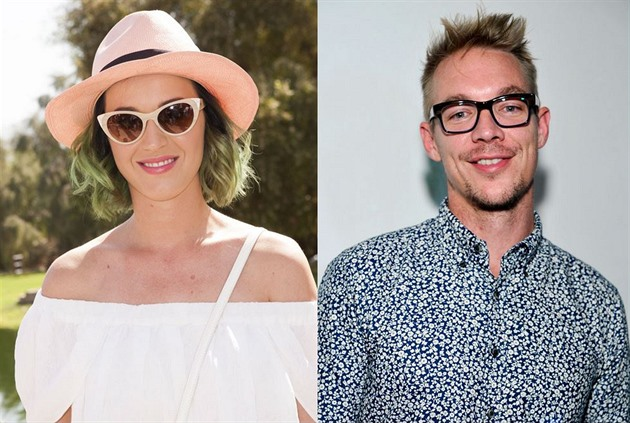 Katy Perry a její ex Diplo