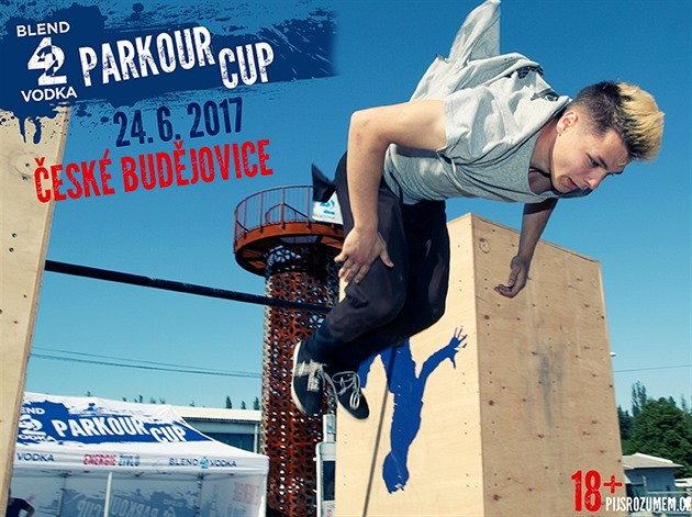 BLEND 42 VODKA PARKOUR CUP