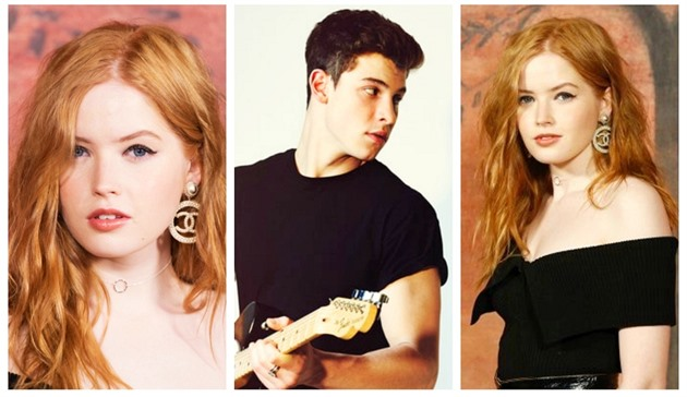 Ellie Bamber a Shawn Mendes