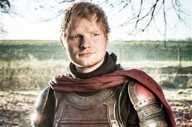 Ed Sheeran si zahrál v Game of Thrones