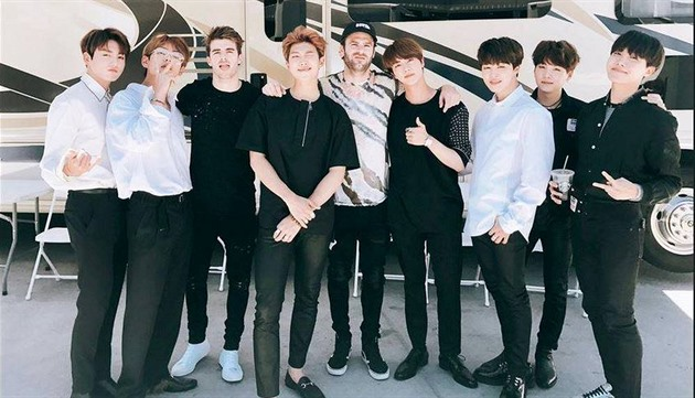 BTS a The Chainsmokers.