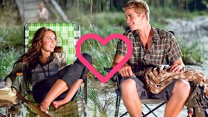 Miley Cyrus a Liam Hemsworth (The Last Song)