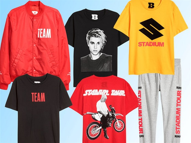 Justin Bieber / PURPOSE TOUR X H&M