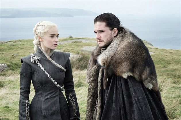 Daenerys Targaryen a Jon Snow (Game of Thrones)