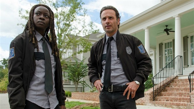 Rick a Michonne (Walking Dead)