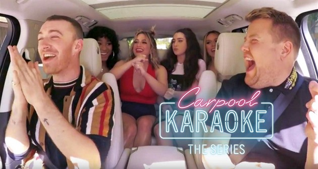 Sam Smith a Fifth Harmony v Carpool Karaoke!