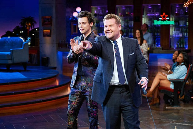 Harry Styles a James Cordon