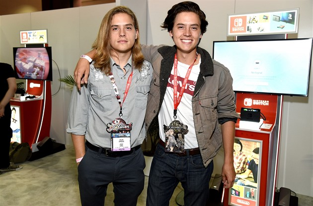 Dylan Sprouse a Cole Sprouse