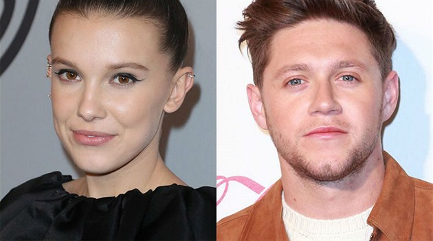 Niall Horan a Millie Bobby Brown