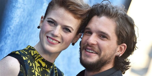 Kit Harrington a Rose Leslie
