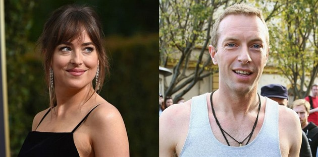 Dakota Johanson a Chris Martin