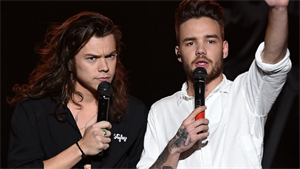 Liam Payne a Harry Styles
