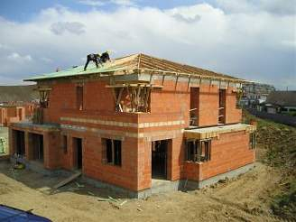Postup montáže krovu