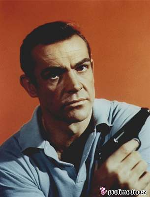 Dr. No - Sean Connery coby James Bond
