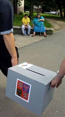 Jak volit s voličským průkazem