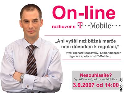 On-line rozhovor s T-Mobile