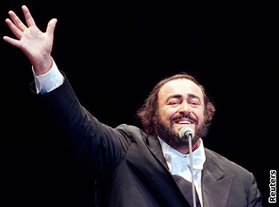 The Great Luciano Pavarotti will always sing in everyone's heart