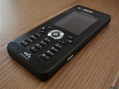 Sony Ericsson W880i Pitch Black