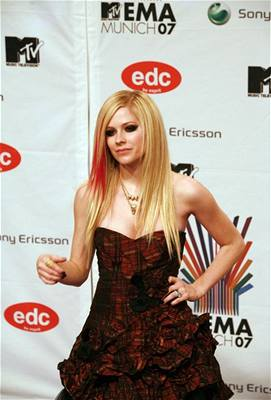 předávání MTV Europe Music Awards - Avril Lavigne