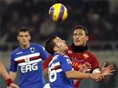 AS Řím - Sampdoria Janov: Totti
